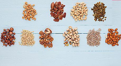 billiga nötter och frön