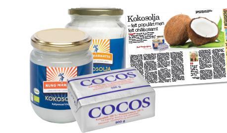 kokosfett eller kokosolja