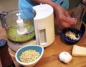 matberedare skiva potatis