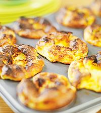 ugnspannkaka i muffinsform