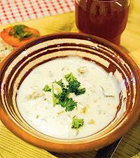 krämig soppa recept