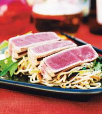 grillad tonfisk recept