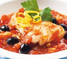 fisk i tomatsås