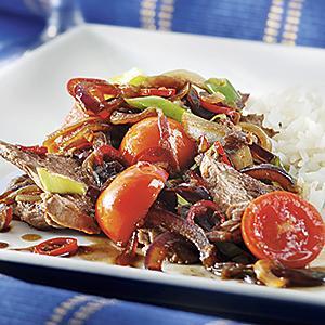 asiatisk biff recept