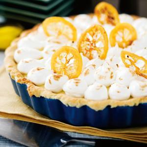 citrontårta med maräng recept