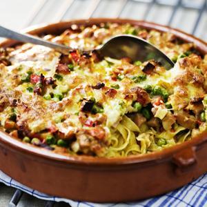 pasta kassler gratäng
