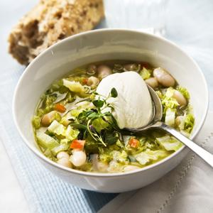 savoykål soppa recept