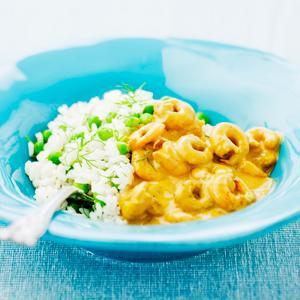 räkor med ris recept