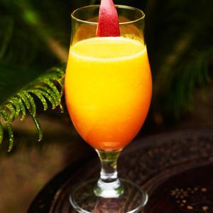 smoothie med apelsin