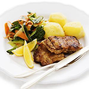 stekt torsk recept