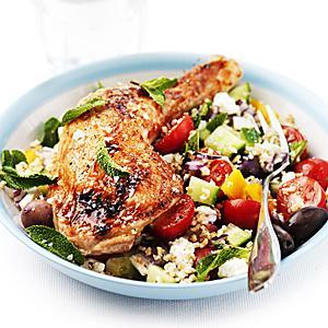 sallad recept kyckling