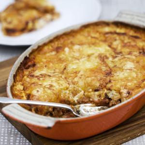 potatisgratäng på färskpotatis