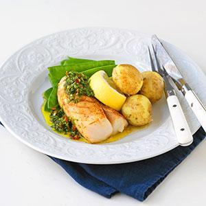 stekt fisk recept