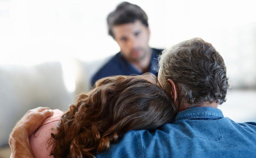 trösta någon som sörjer