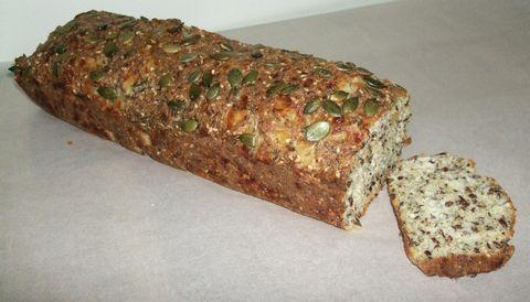 bröd med få kolhydrater