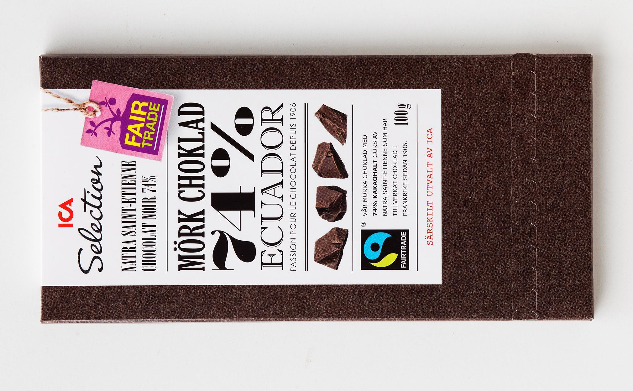 garant mörk choklad
