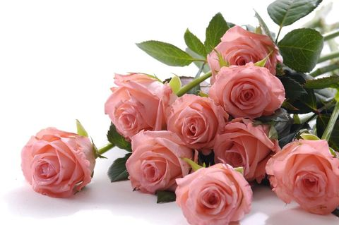 tio röda rosor betyder