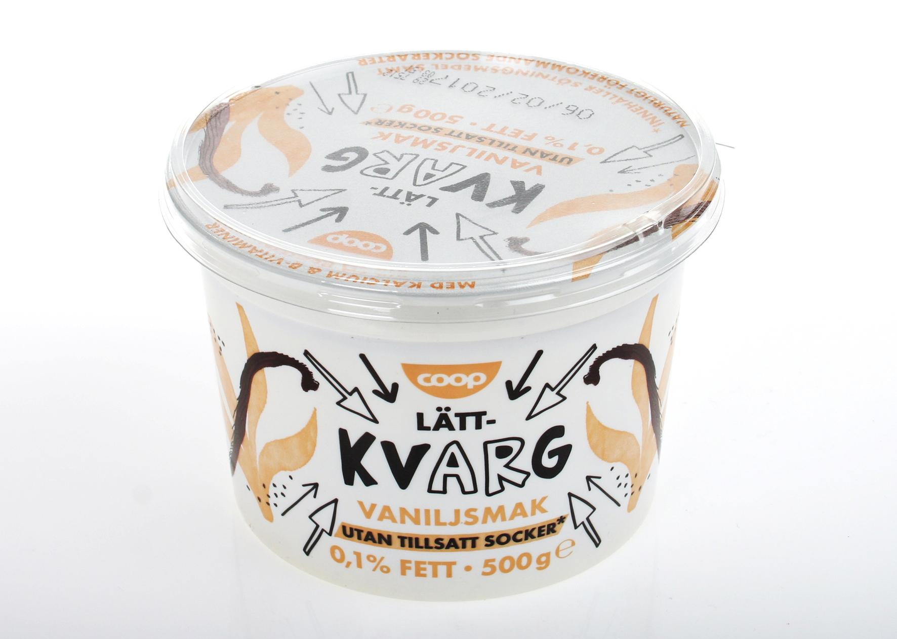 coop kvarg vanilj